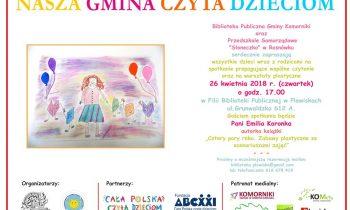 Nasza Gmina Czyta Dzieciom – 26 kwietnia