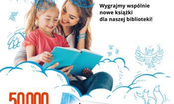 Przerwa na wspólne czytanie – głosujemy na naszą Bibliotekę!