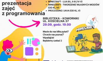 Programowanie – prezentacja zajęć