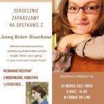 Spotkanie z Anną Roter-Bourkane