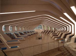 Wnętrze Biblioteki w Vennesli