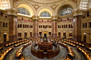 Czytelnia Biblioteki Kongresowej