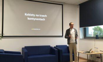 Spotkanie z podróżnikiem – panem Piotrem Kowalczykiem – relacja