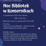 Noc Bibliotek 2021